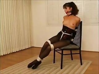 Gorgeous Woman Bound