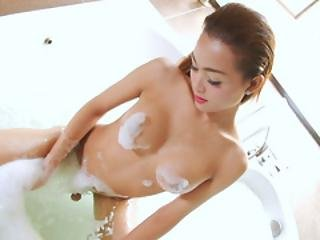 Asian Trans Beauty Sammy B Gets Herself Off