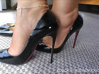 Stockingbabe_068_louboutin Heels 3 Hq