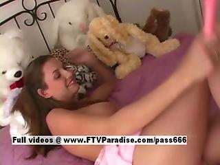 Jamie Ingenious Teenage Woman Squirt