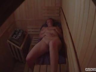 Amateur, Czech, Public, Sauna