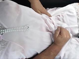 Sissy Tv Wearing Pretty Pink Slip Masturbating In Public Car
