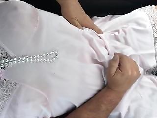 Sissy Tv Wearing Pretty Pink Slip Masturbating In Public Car