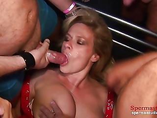 Multiple Cumshots Orgy Marina Part 1