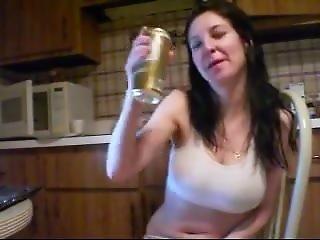 amateur, luder, bier, fetisch, webkam