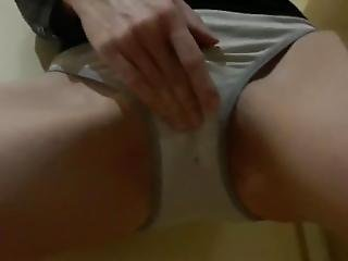 Horny Teen Squirt In Panties Dont Tell Daddy