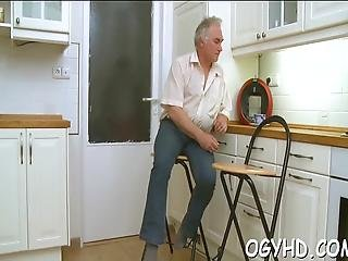 Hot Teen Seduced By Old Guy