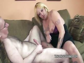 Mature Plumper Lexxi Meyers Is Swallowing Some Dick
