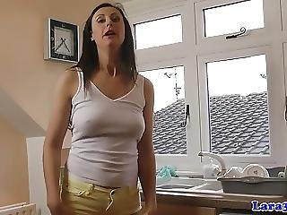 Classy English Matures Eat Pussy