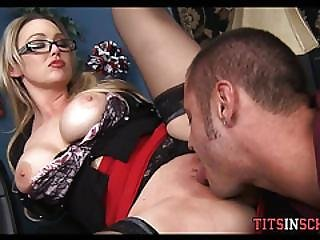 Cougar Teacher Gets It In Her Office