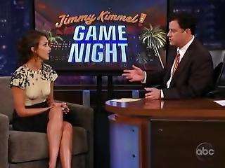 Jessica Alba - Jimmy Kimmel Game Night June 13 2010