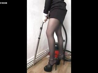 Vacuuming Sharada