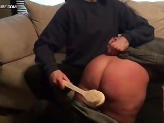Thick Ass Spanked
