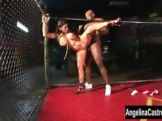 Angelina Castro Bbc Cage Showdown!