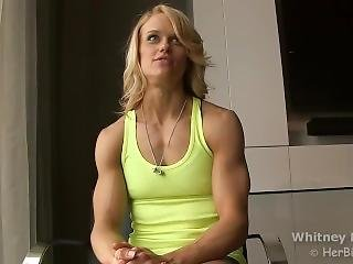 Amazing Muscle Girl Interview 2