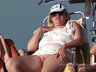 strand, naakt, rok