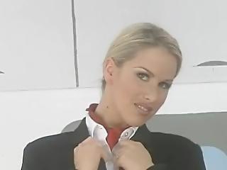 Vintage stewardess porn movie