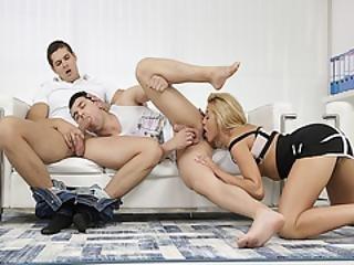 bisessuale, bionda, pompini, pisello