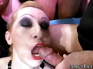 Bukkake Sluts Swap Spunk