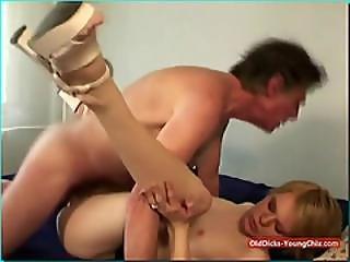 Sofia Fucks An Older Man For Cash