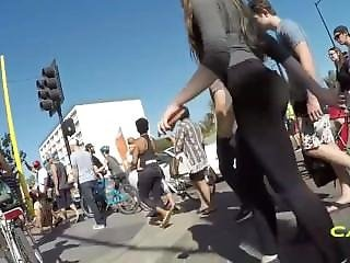 Cali Girl In Yoga Pants Candid