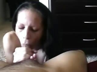 3rd Time This Married Slut Sucked My Cock At My House