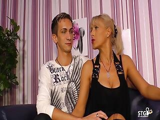 Hot Sextape With German Milf And Her Younger Boyfriend