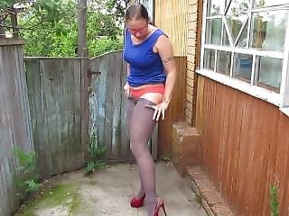 To Piss In Red Panties;)