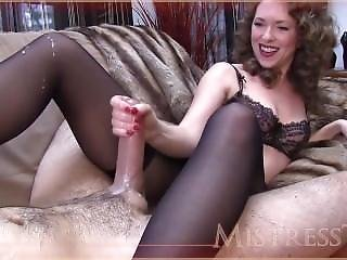 Mistress T Wanking Big Cocks Off