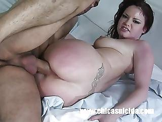 Small Titted Girl Got Oiled And Fucked Hard