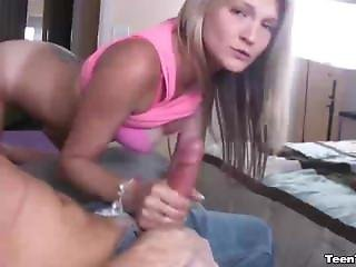 Cute Teen Masturbation And Handjob