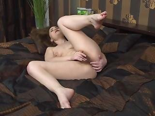 Hairy Housewife Playing With Herself