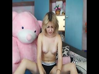 18 College Webcam Pov Pretty Teenager Toyplaying 01
