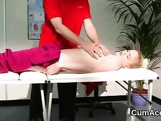 Hot Beauty Gets Cum Load On Her Face Gulping All The Juice