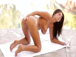 Nubile Films   Bigtit Goddess Whitney Westgate Oiled Up Pussy Rub