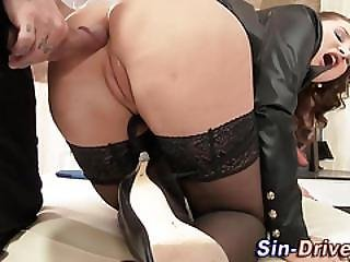 Glam Babe Anal Fucked