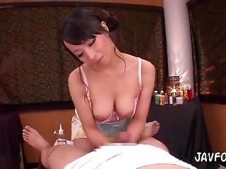 Seductive Ball-draining Massage Parlor
