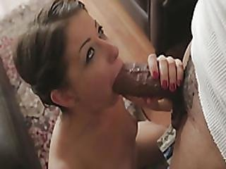 Mia Gold Blows Big Black Cock And Gets Banged