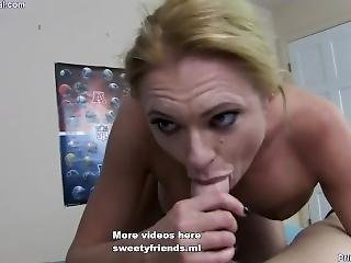 Young Mom Orgasm With Her Son