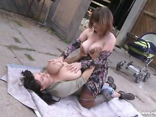 Big Tit, Lesbian, Milf, Milk