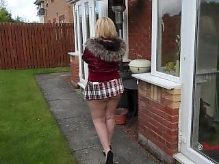 amadores, cú, grande cú, britânica, prostituta, madura, saia