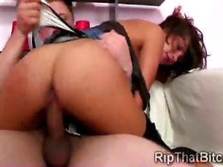 Horny Thug Drills The Virginal Rectum Of A Helpless Tee