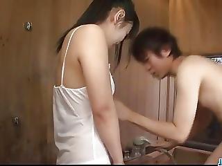 Koyuki Ono Brunette Bimbo Blows Cock Like An Angel