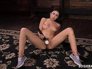 Gorgeous Melissa Moore Machine Fucking