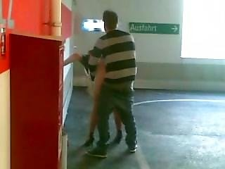 Busted Fuckers In Public Garage-fetishtaboo.com