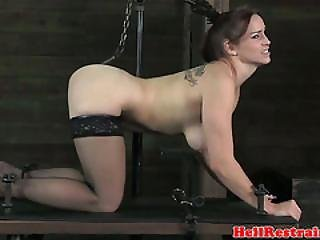 Lezdom Master Torments Mature Submissive