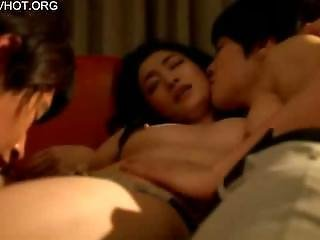 Asian, Babe, Drunk, Fucking, Japanese, Threesome