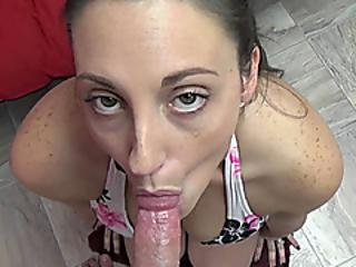 Busty Milf Melanie Hicks Is Doing Some Pov Cock Sucking