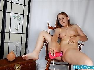 Teens Pussy Pumped Full Of Dragon Cum