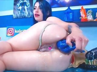 анальный, анальный кулак, задница, большая синица, фистинг, хардкор, роговой, вставка, мастурбация, соло, шприц, игрушки
